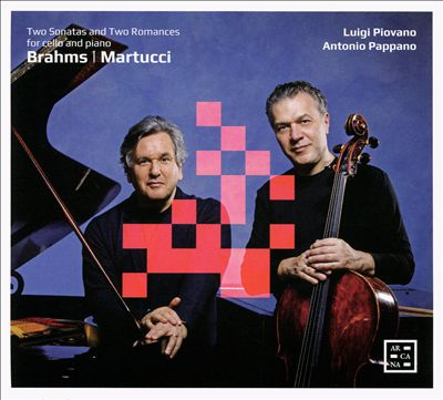 Two Sonatas and Two Romances: Brahms, Martucci