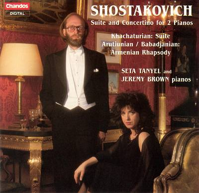 Russian Music for 2 Pianos