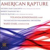 American Rapture: Higdon, Barber, Harlin