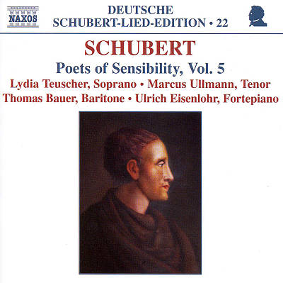Schubert: Poets of Sensibility, Vol. 5