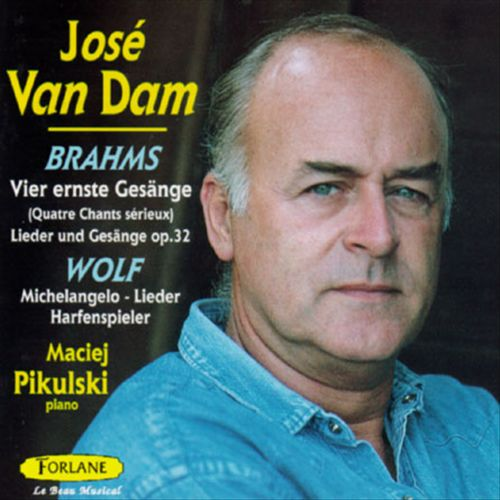 Brahms: Vier ernste Gesänge; Hugo Wolf: Michelangelo-Lieder; Harfenspieler