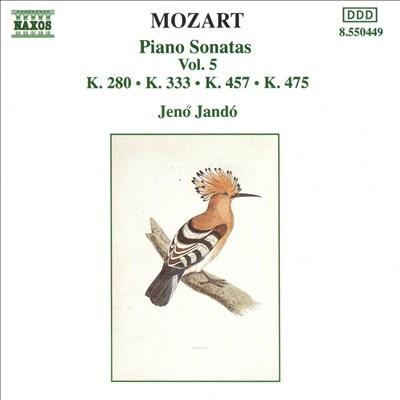 Mozart: Piano Sonatas, Vol. 5