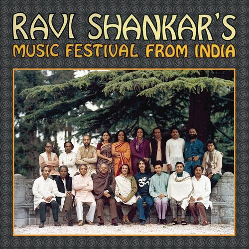Ravi Shankar's Music Festival from India