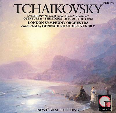 "Tchaikovsky: Symphony No. 6 in B minor, Op. 74 ""Pathetique""; Overture to ""The Storm"""