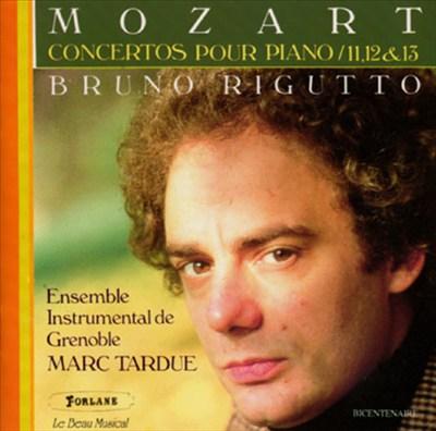 Mozart: Concertos pour Piano 11, 12 & 13