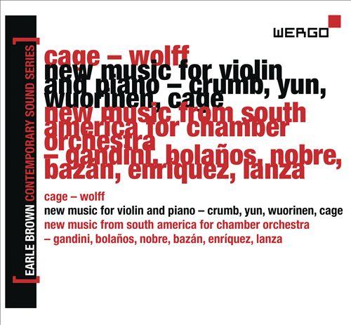Earle Brown Contemporary Sound Series, Vol. 6