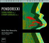 Krzysztof Penderecki: Choral Works, Vol. 2