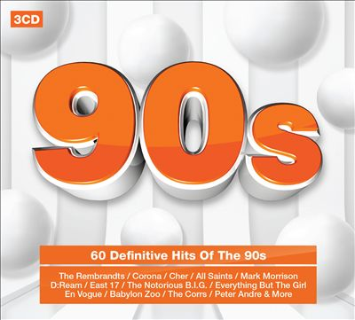90s: 60 Definitive Hits [Rhino]