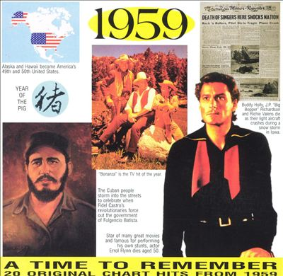 1959: A Time to Remember, 20 Original Chart Hits