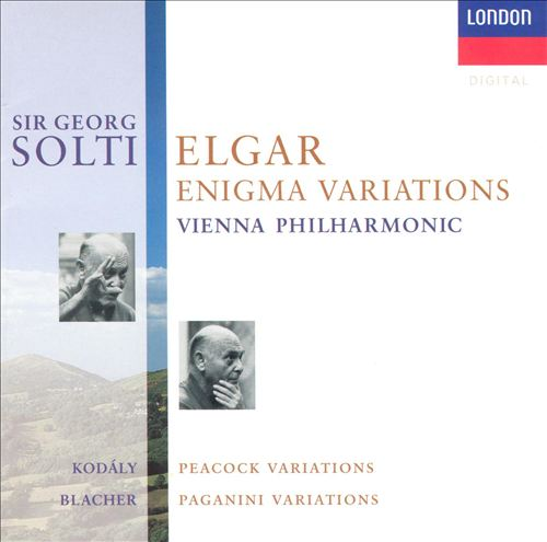 Elgar: Enigma Variations; Kodaly: Variations on a Hungarian Folksong