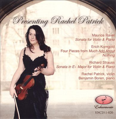 Presenting Rachel Patrick
