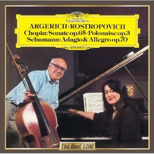 Chopin: Sonata; Polonaise; Schumann: Adagio and Allegro