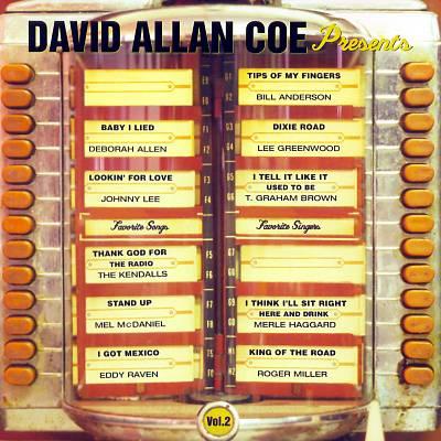 David Allan Coe Presents...My Favorite Singers, Vol. 2