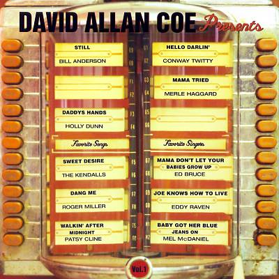 David Allan Coe Presents...My Favorite Singers, Vol. 1