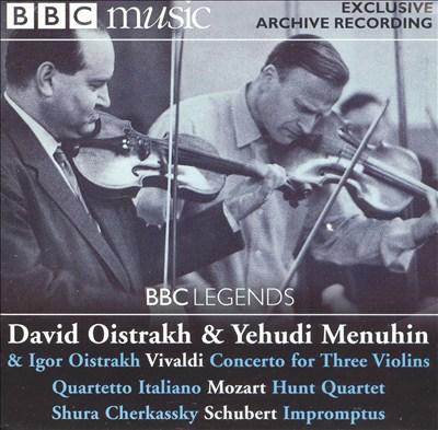BBC Legends: David Oistrakh & Yehudi Menuhin