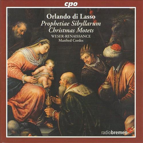 Orlando di Lasso: Christmas Motets