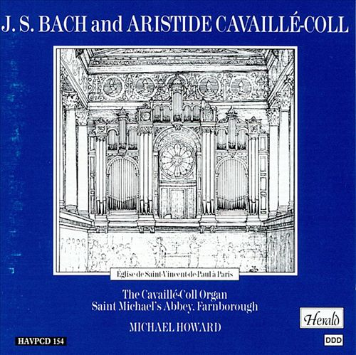 J.S. Bach and Aristide Cavaillé-Coll
