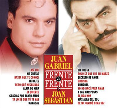 Frente a Frente: Juan Gabriel/Joan Sebastian