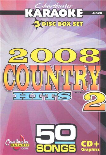 Karaoke: Country 2008, Vol. 2