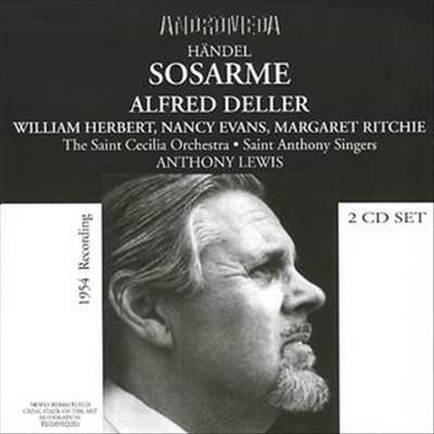 Händel: Sosarme - 1954 Recording