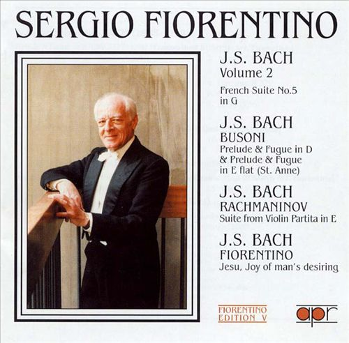 The Fiorentino Edition 4: J. S. Bach, Volume 2
