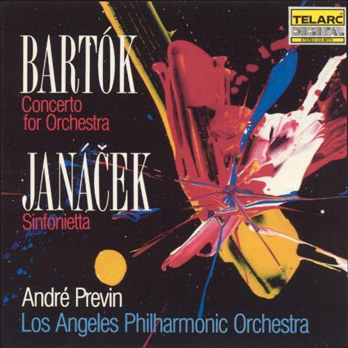 Bartók: Concerto for Orchestra; Janácek: Sinfonietta
