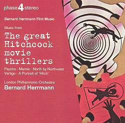 Music from the Great Hitchcock Movie Thrillers