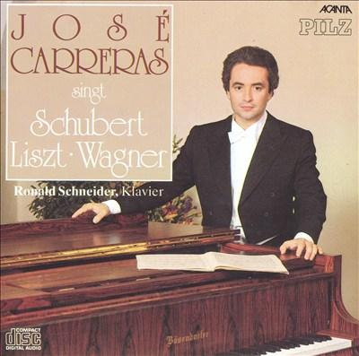 José Carreras singt Schubert, Liszt, Wagner