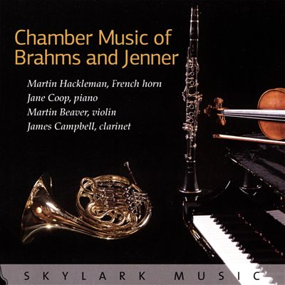 Chamber Music of Brahms and Jenner
