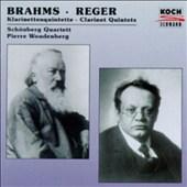 Brahms, Max Reger: Clarinet Quintets