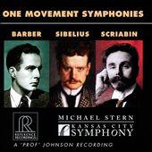 One Movement Symphonies:…