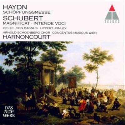 Haydn: Schöpfungsmesse; Schubert: Magnificat; Intende Vocie