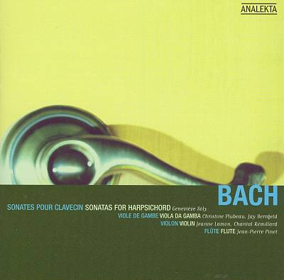 Bach: Sonatas for Harpsichord