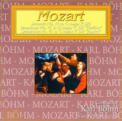 Mozart: Serenade 13/Symphonies 35 & 41