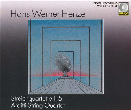 Hans Werner Henze: Streichquartett 1-5