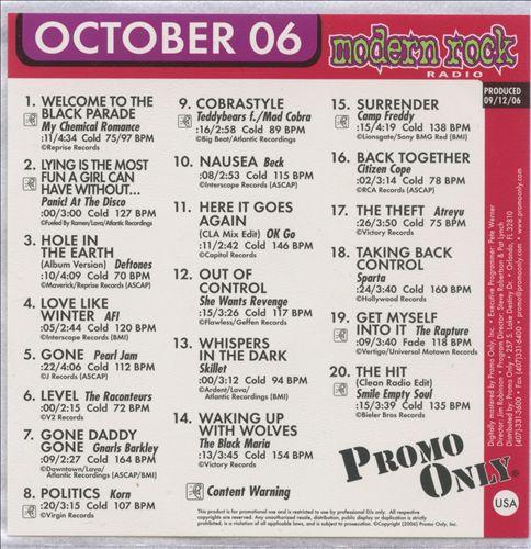 Promo Only: Modern Rock (October 2006)