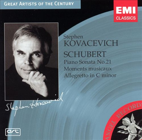 Schubert: Piano Sonata No. 21; Moments musicaux; Allegretto in C minor