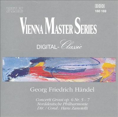 Georg Friedrich Händel: Concerti Grossi, Op. 6/5-7