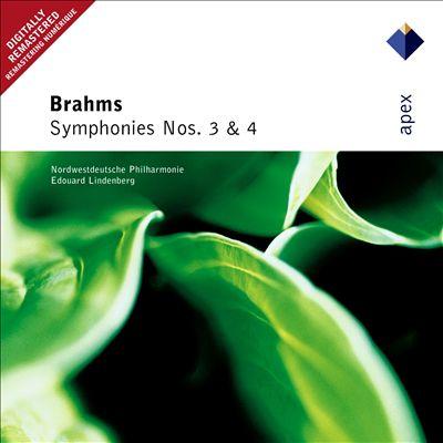 Brahms: Symphonies Nos. 3 & 4
