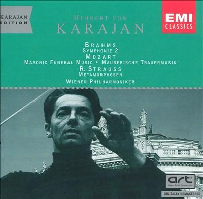 Herbert von Karajan Conducts Brahms, Mozart, R. Strauss