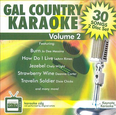 Gal Country Karaoke, Vol. 2