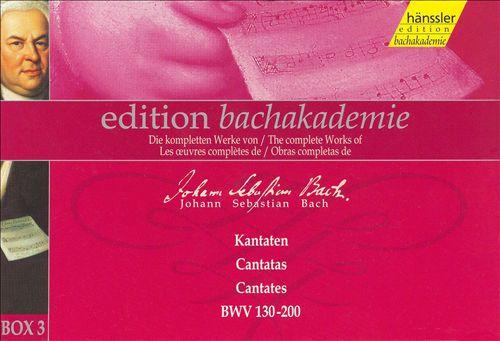 Bach Cantatas, Box 3, BWV 130-200