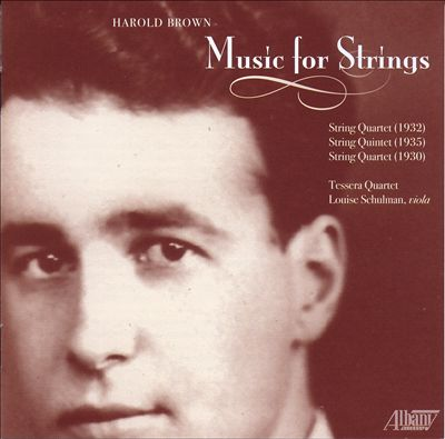 Harold Brown: Music for Strings