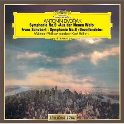 """Antonín Dvorák: Symphonie No. 9 """"Aus der Neuen Welt""""; Franz Schubert: Symphonie Nr. 8 """"Unvollendete"""""""