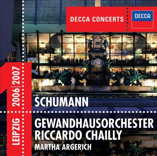 Schumann: Piano Concerto; Symphony No.4