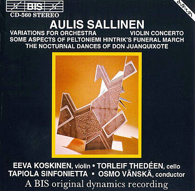 Aulis Sallinen: Variations for Orchestra; Violin Concerto
