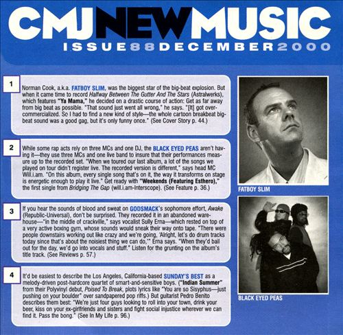 CMJ New Music, Vol. 88