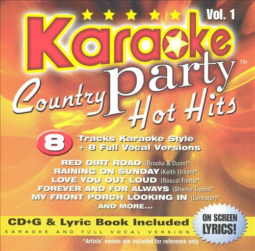 Karaoke Party! Country Hot Hits, Vol. 1
