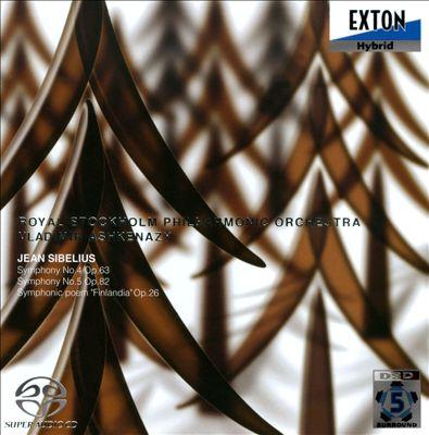 Sibelius: Symphonies Nos. 4 & 5; Finlandia