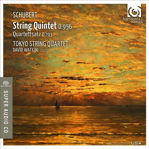 Schubert: String Quintet D.956; Quartettsatz D.703